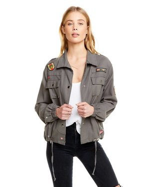 Chaser Military Jacket W/ Patches
