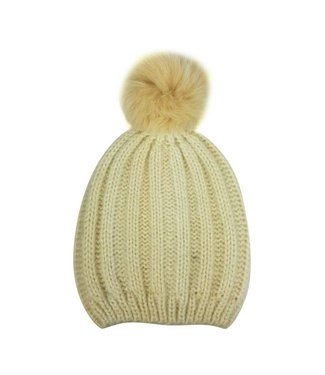 Hat Attack Soft Rib Slouchy Ivory