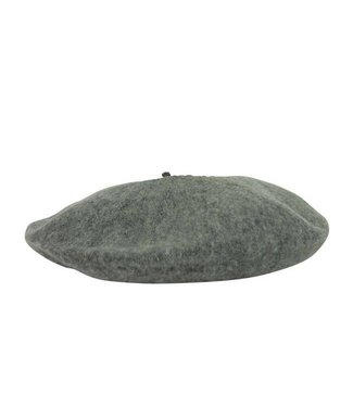 Hat Attack Wool Beret Gray