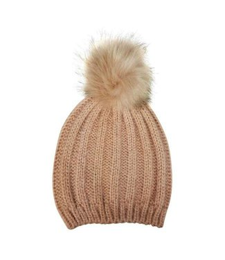 Hat Attack Tonal Pom Hat Pink