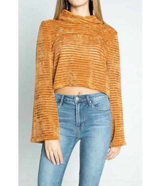 MinkPink Charlotte Sweater Camel