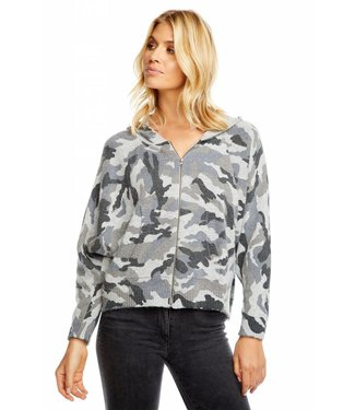 Chaser Zip Up Camo Dolman
