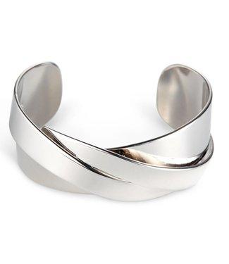 Jenny Bird Lovers Cuff Silver