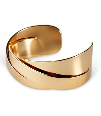 Jenny Bird Lovers Cuff Gold