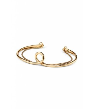 Jenny Bird Loop Cuff Gold