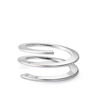 Jenny Bird Revolve Ring Silver