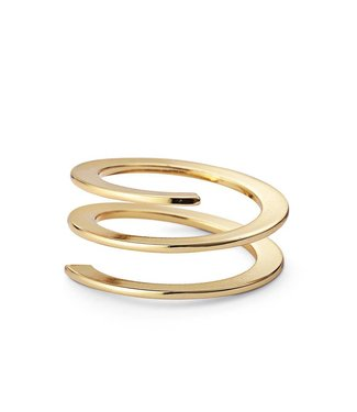 Jenny Bird Revolve Ring Gold