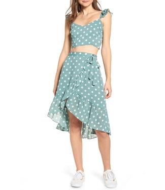 MinkPink Misty Ruffle Skirt