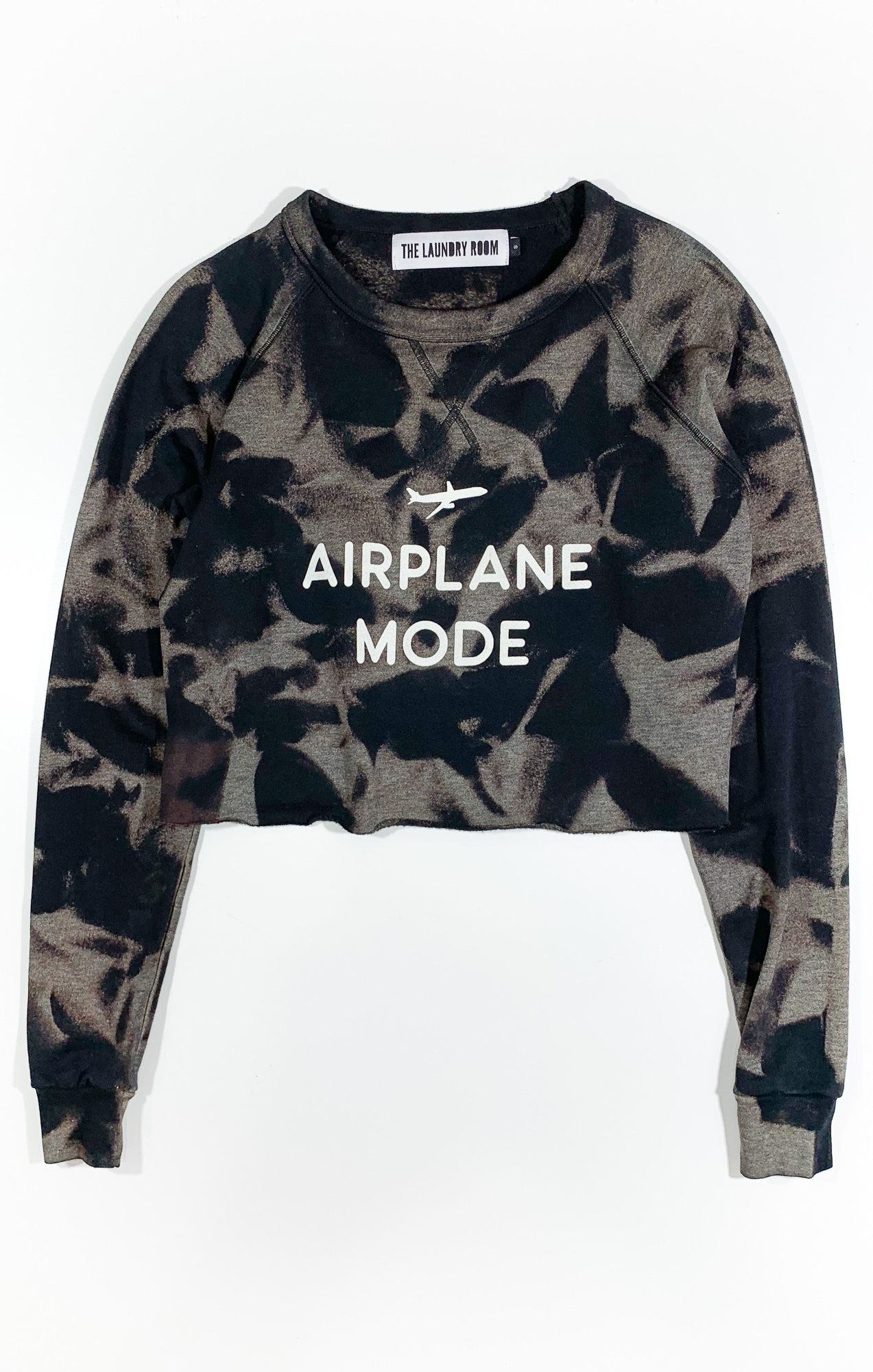 timeless design 6a87d 137e9 Airplane Mode Crop Pullover