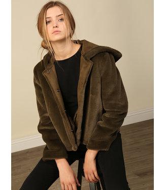Line & Dot Andi Reversible Fur Jacket