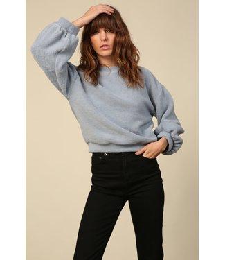 Line & Dot Calli Textured Pullover