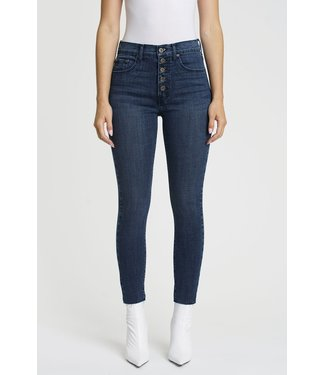 Pistola Aline Exposed Button High Rise Jeans