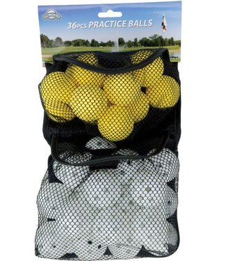 On Course 36 PRACTICE BALLS (FOAM/PERFORATED)