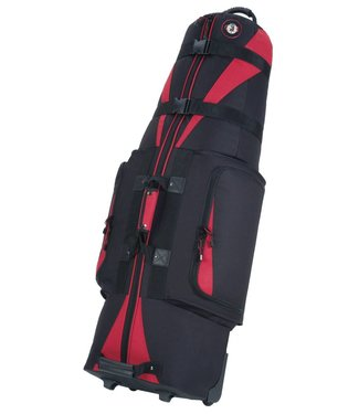 Golf Travel Bags CARAVAN 3.0 BLACK/RED