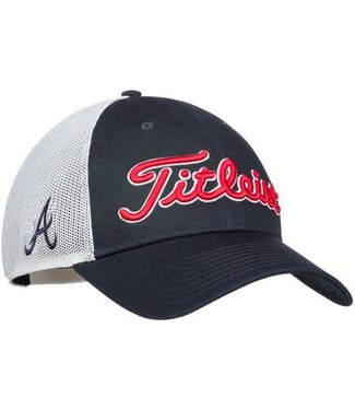 Titleist BRAVES TWILL MESH HAT