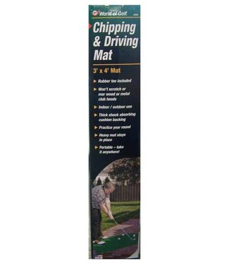 JEF World of Golf DRIVING & CHIPPING PRACTICE MAT