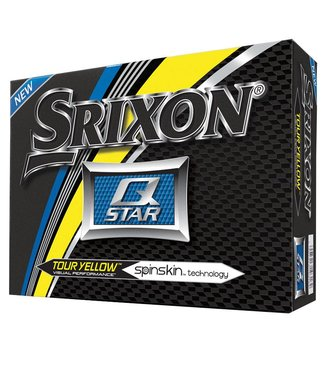 Srixon Q STAR TOUR YELLOW