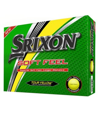 Srixon SOFT FEEL - TOUR YELLOW