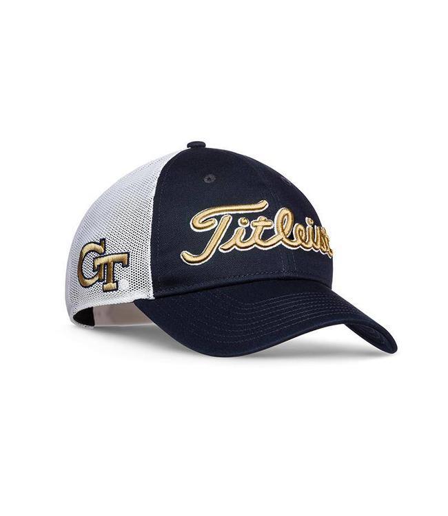 a84b3fa05f1 Titleist GEORGIA TECH TWILL MESH HAT