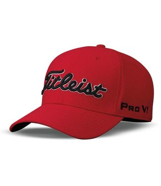 Titleist DOBBY TECH STAFF HAT RED