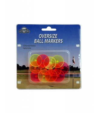 On Course OVERSIZE NEON BALL MARKERS