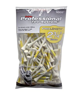 Pride Sports PTS GOLF TEES 2 3/4'' PROLENGTH 100 PACK WHITE