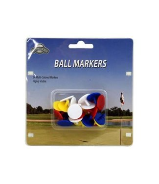 On Course PLASTIC BALL MARKERS