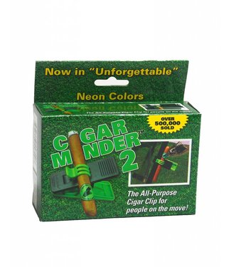 CIGAR MINDER NEON GREEN