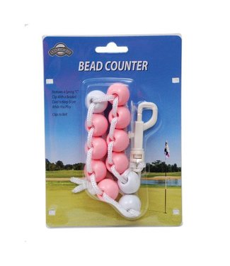 On Course BEAD SCORE COUNTER PINK