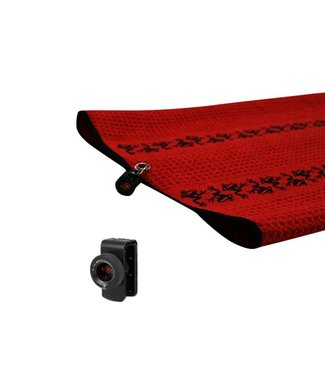Frogger TRAX GOLF TOWEL WITH CATCH LATCH - RED