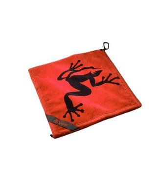 Frogger AMPHIBIAN TOWEL RED