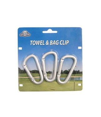 On Course TOWEL & BAG CLIPS