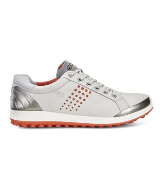 Ecco GOLF BIOM HYBRID 2 DARK WHITE/FIRE