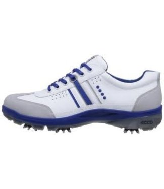 Ecco GOLF COOL III CONCRETE/WHITE/MAZARINE BLUE