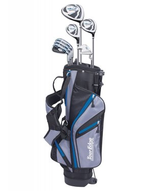 Tour Edge HL-J 11-14 ROYAL BLUE 7 CLUB SET W/BAG