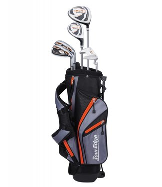 Tour Edge HL-J 5-8 ORANGE 5-CLUB SET W/BAG