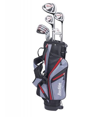 Tour Edge HL-J 9-12 RED 7-CLUB SET W/BAG