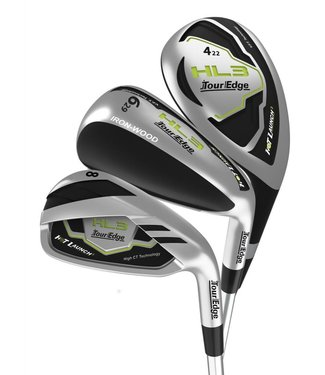 Tour Edge HOT LAUNCH HL3 TRIPLE COMBO HYBRID IRON SET