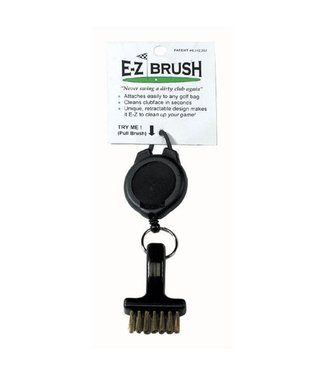 On Course EZ BRUSH WITH RETRACTABLE CORD