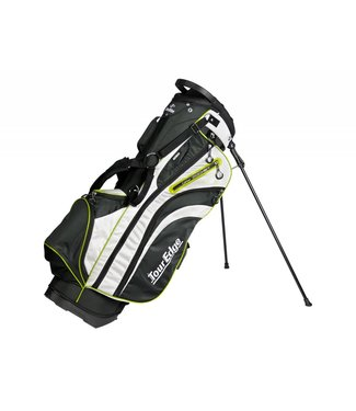 Tour Edge HL3 ULTRA-LIGHT STAND BAG BLK/SLVR/LIME