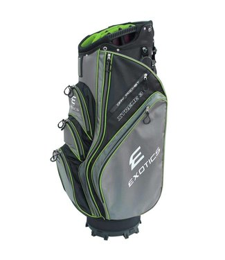 Tour Edge EXOTICS EXTREME 3 CART BAG LIME/GRAY