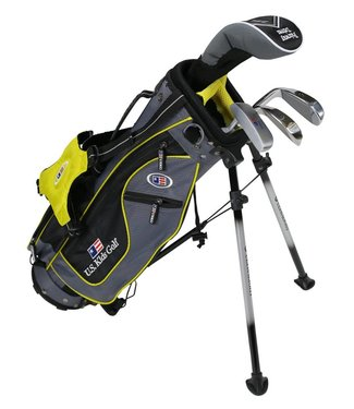 US Kids Golf ULTRA LIGHT 42 4-CLUB CARRY BAG SET