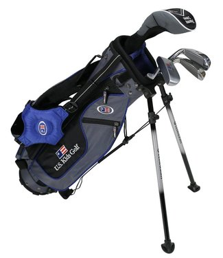 US Kids Golf ULTRA LIGHT 45 4-CLUB CARRY BAG SET