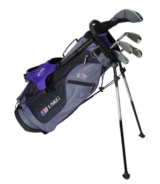 US Kids Golf ULTRA LIGHT 54 5-CLUB CARRY BAG SET
