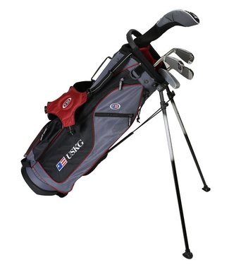 US Kids Golf ULTRA LIGHT 60 5-CLUB CARRY BAG SET
