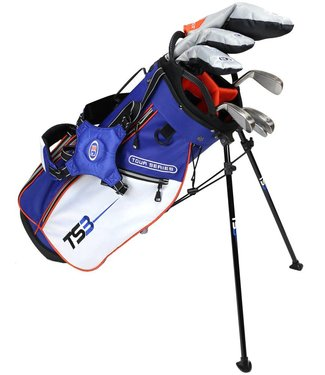 "US Kids Golf TOUR SERIES 3 51"" 7 CLUB STAND BAG SET"