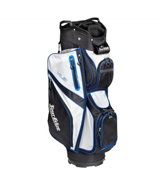 Tour Edge HL3 ULTRA-LIGHT CART BAG BLK/SLVR/ROYAL