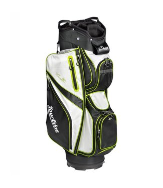 Tour Edge HL3 ULTRA-LIGHT CART BAG BLK/SLVR/LIME