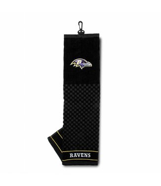 Team Golf BALTIMORE RAVENS Embroidered Golf Towel