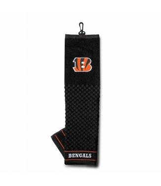 Team Golf CINCINNATI BENGALS Embroidered Golf Towel